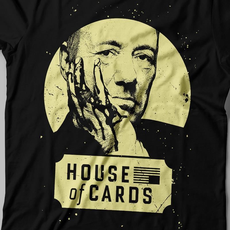 Camiseta House of cards feminina Zoom