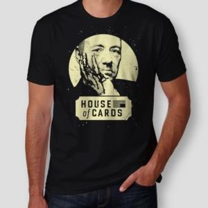 Camiseta House of cards Masculina Capa