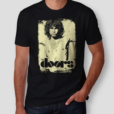 Camiseta Jim Morrison The Doors Masculina Cover