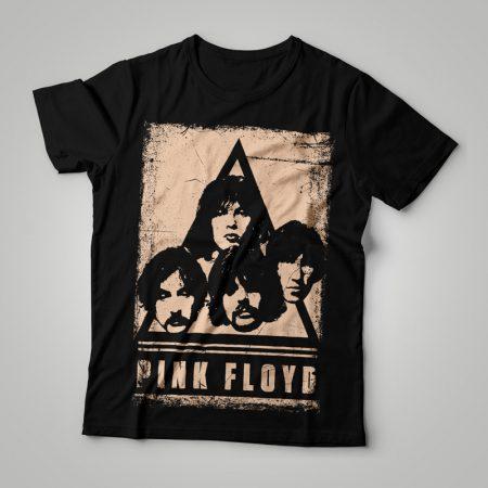 Camiseta Pink Floyd Faces Feminina Capa
