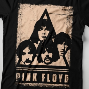 Camiseta Pink Floyd Faces Feminina Zoom