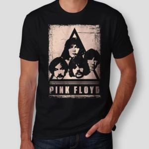 Camiseta Pink Floyd Faces Masculina Capa
