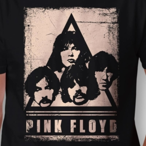 Camiseta Pink Floyd Faces Masculina Zoom