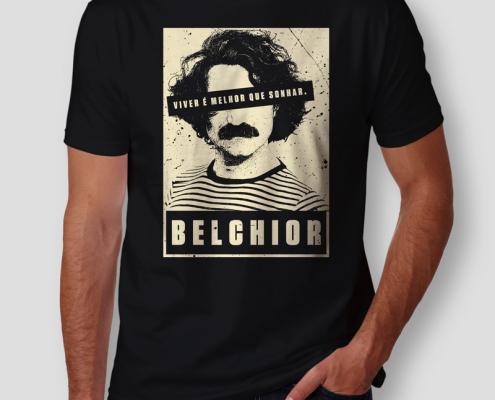 Camiseta Belchior Masculina Cover