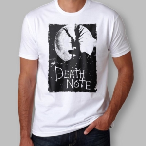 Camiseta Death Note Shinigami Masculina Capa