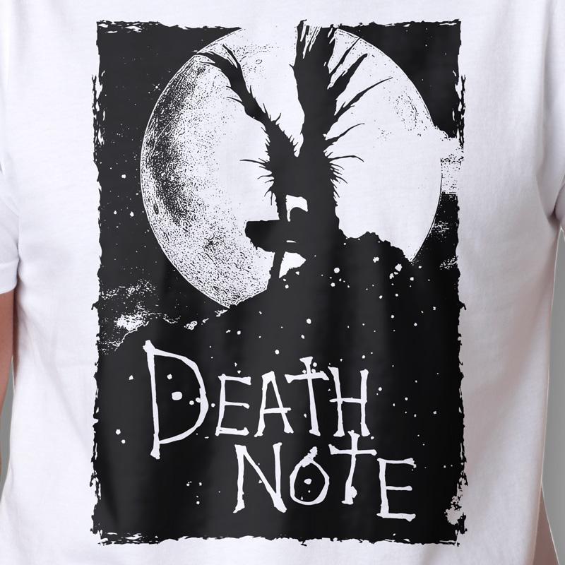 Camiseta Death Note Shinigami Masculina Zoom