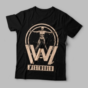 Camiseta Westworld Feminina Cover