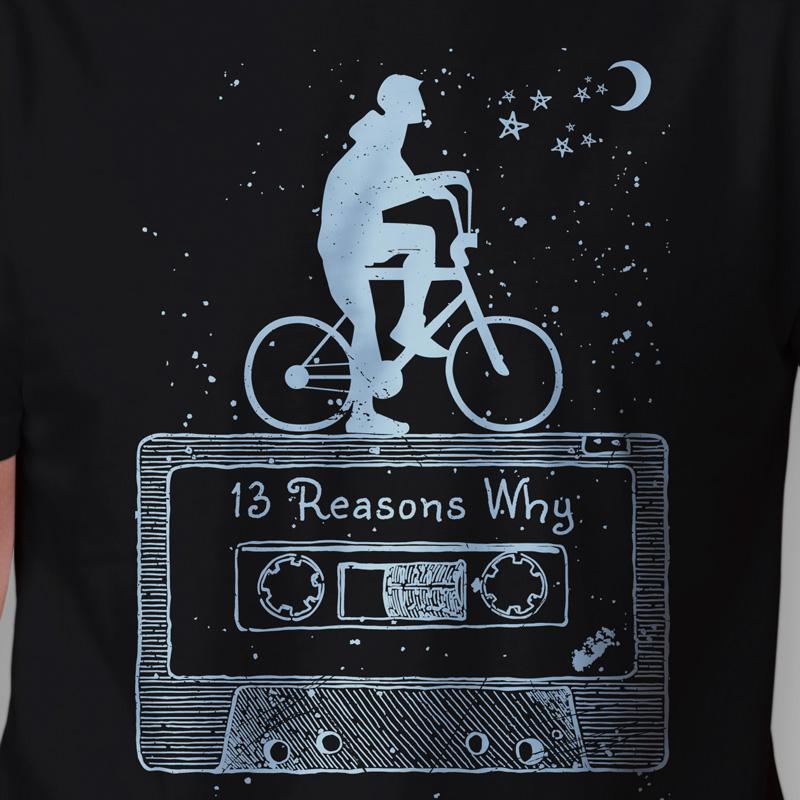 Camiseta 13 Reasons Why Zoom