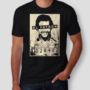 Camiseta Pablo Escobar Masculina Cover