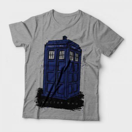 Camiseta Doctor Who Police Box Feminina Cover
