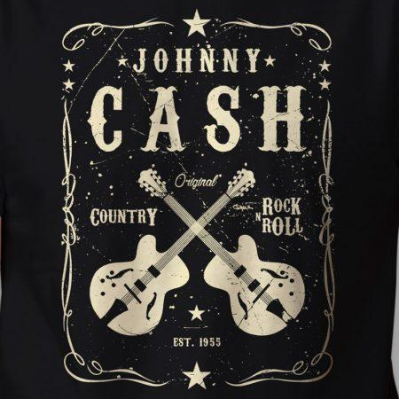Camiseta Johnny Cash Zoom