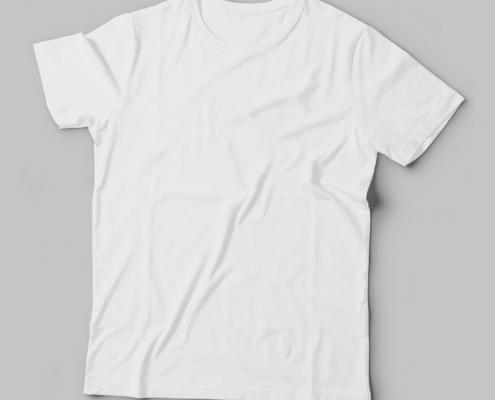 Camiseta Básica Branca Feminina Foto