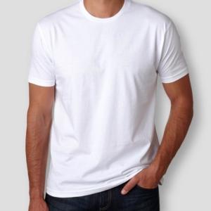 Camiseta Básica Branca Masculina Foto