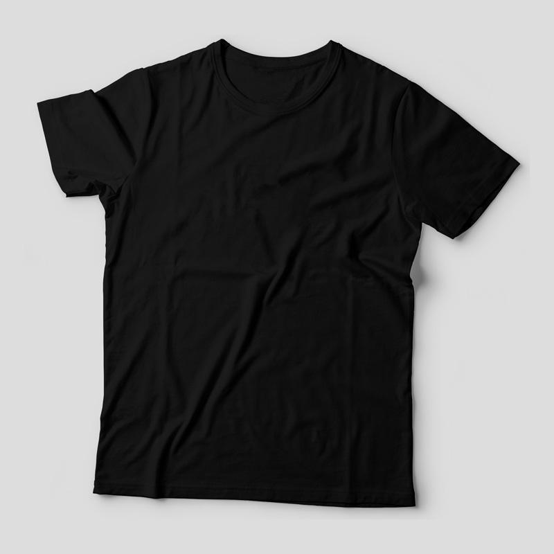 706c908fde Camiseta Básica Preta Feminina - Teo Shop