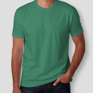 Camiseta Básica Verde Masculina Foto