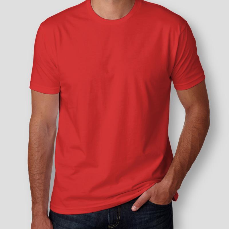 Camiseta Básica Vermelha Masculina - Teo Shop 628ed7374515a