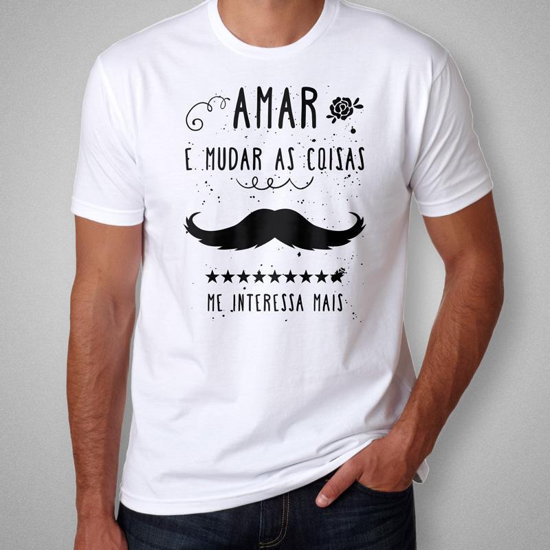 Camiseta Belchior Alucinacao Masculina Branca