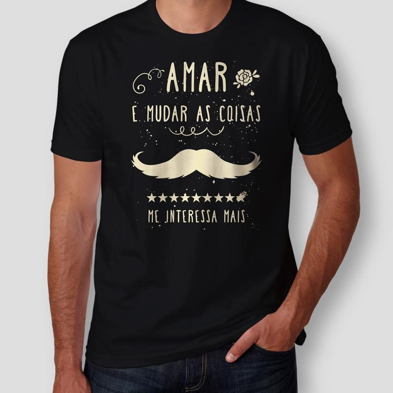 Camiseta Belchior Alucinacao Masculina Preta