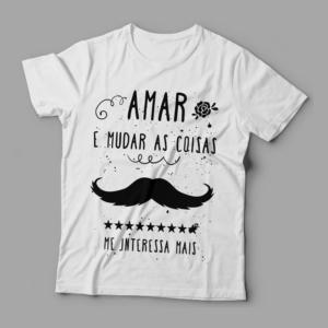 Camiseta Belchior Alucinacao Feminina Branca