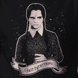 Camiseta Wandinha Addams Arte