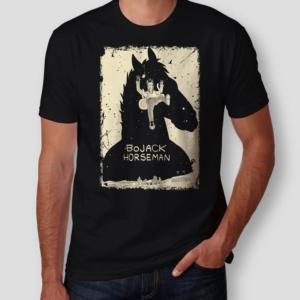 Camiseta BoJack Horseman Masculina Capa
