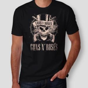 Camiseta Guns N Roses Masculina Capa