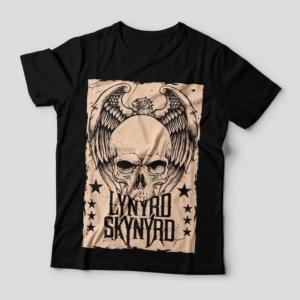 Camiseta Lynyrd Skynyrd Feminina Capa