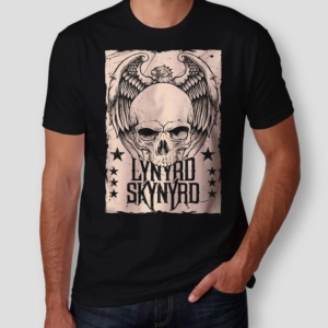 Camiseta Lynyrd Skynyrd Masculina Capa