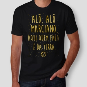 Camiseta Alô Alô Marciano Masculina Capa