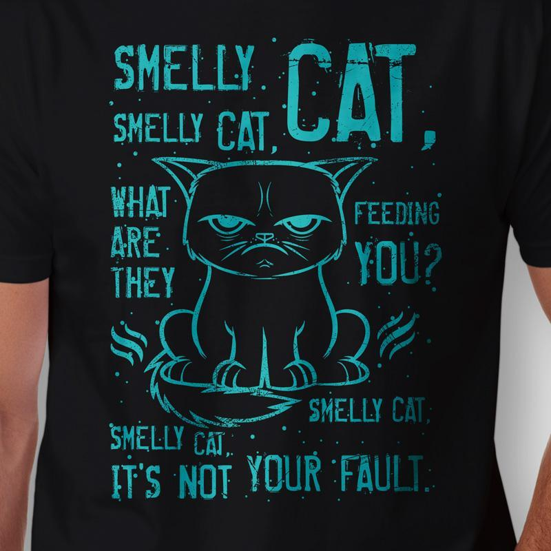 Camiseta Smelly Cat Friends Zoom