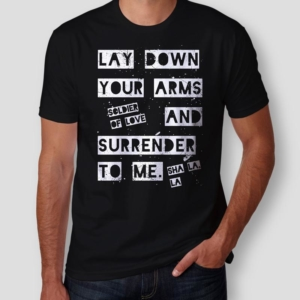 Camiseta Soldier Of Love Masculina Capa