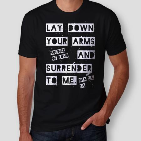 Camiseta Soldier Of Love Masculina Capa