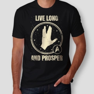 Camiseta Star Trek Masculina Capa