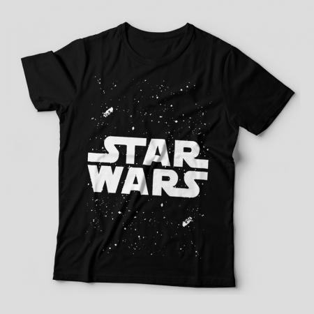 Camiseta Star Wars Feminina Capa