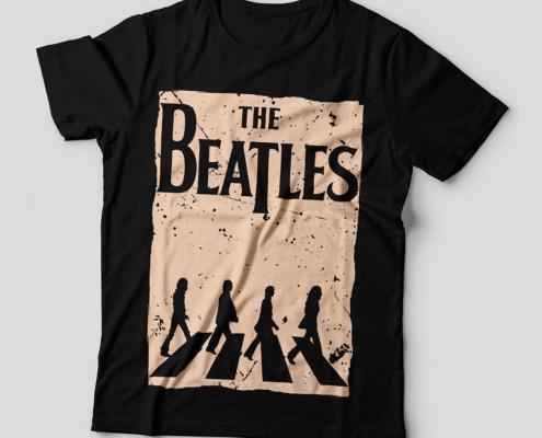 Camiseta The Beatles Abbey Road Feminina Capa