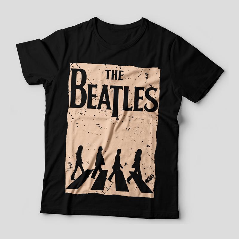 Camiseta The Beatles Abbey Road Feminina Capa