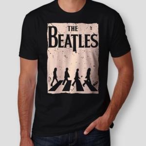 Camiseta The Beatles Abbey Road Masculina Capa