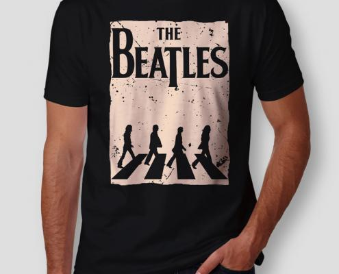 Camiseta The Beatles Abbey Road Masculina Capa
