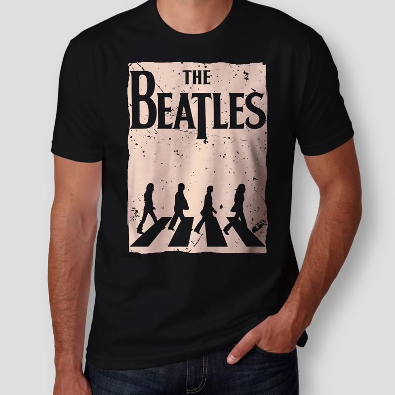 Camiseta the beatles abbey road masculina teo shop for Abbey road salon
