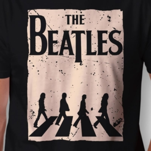Camiseta The Beatles Abbey Road Zoom
