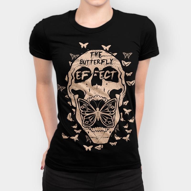 Camiseta The Butterfly Effect Feminina Capa 2