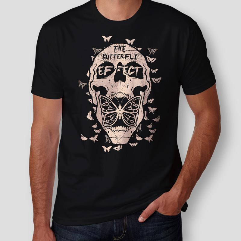 Camiseta The Butterfly Effect Masculina Capa