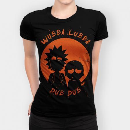 Camiseta Wubba Lubba Dub Dub Feminina Capa 1