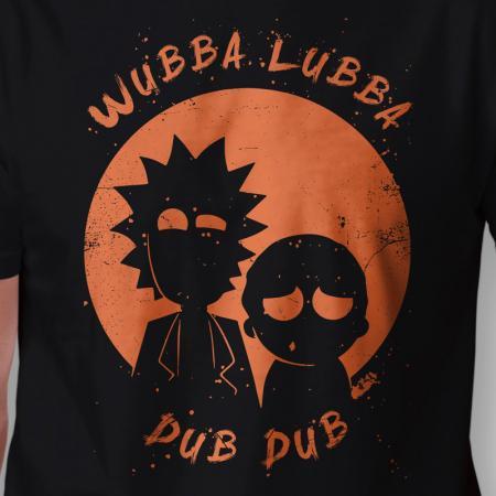 Camiseta Wubba Lubba Dub Dub Arte
