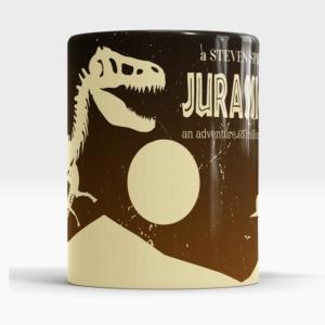 Caneca Jurassic Park Frente