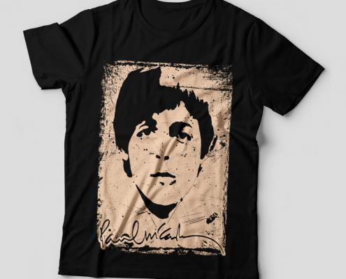 Camiseta Paul McCartney Feminina Capa