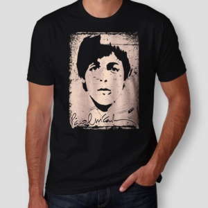 Camiseta Paul McCartney Masculina Capa