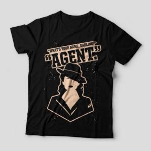 Camiseta Agent Carter Feminina Capa