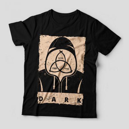 Camiseta Dark Feminina Capa