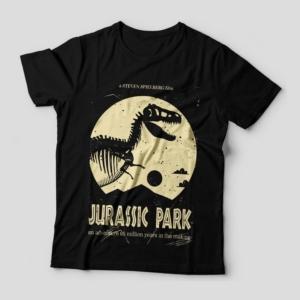 Camiseta Jurassic Park Feminina Capa
